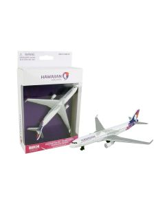 Hawaiian Airlines Airliner Toy Airplane Diecast with Plastic Parts