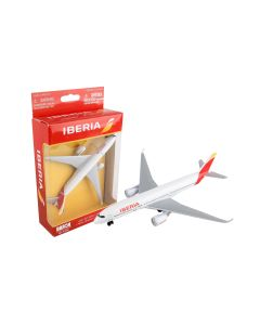 Iberia Airlines Airliner Toy Airplane Diecast with Plastic Parts