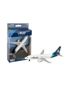 Alaska Airlines Airliner Toy Airplane Diecast with Plastic Parts