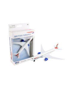British Airways Boeing 787 Airliner Toy Airplane Diecast with Plastic Parts