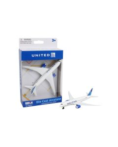 United Airlines Airliner Toy Airplane Diecast with Plastic Parts