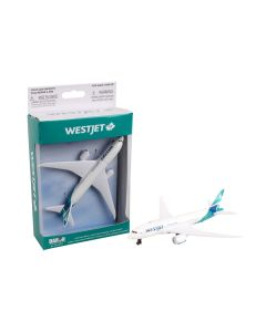 WestJet Airliner Toy Airplane with New Livery Diecast with Plastic Parts