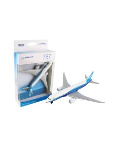 Boeing 787 Toy Airplane with Boeing House Colors Diecast with Plastic Parts