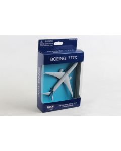 Boeing 777X House Colors Airliner Toy Airplane Diecast with Plastic Parts