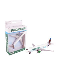 Frontier Airlines Airliner Toy Airplane Diecast with Plastic Parts