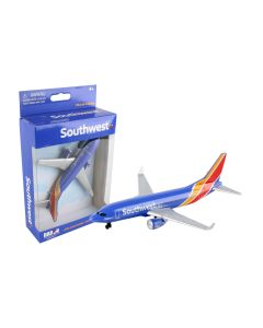 Southwest Airlines Airliner Toy Airplane Diecast with Plastic Parts