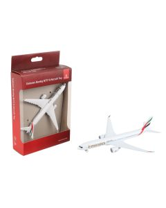 Emirates Boeing 777-9 Airliner Toy Airplane Diecast with Plastic Parts