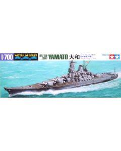 Tamiya 31113 Japanese Battleship Yamato 1/700 Scale Plastic Model Kit