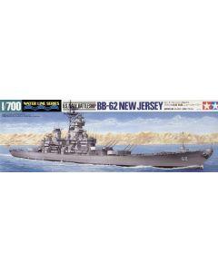 Tamiya 31614 US Battleship New Jersey 1/700 Scale Plastic Model Kit