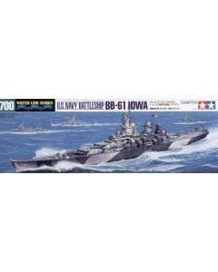 Tamiya 31616 US Battleship Iowa 1/700 Scale Plastic Model Kit