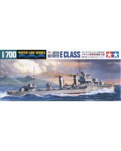 Tamiya 31909 British Destroyer E Class 1/700 Scale Plastic Model Kit