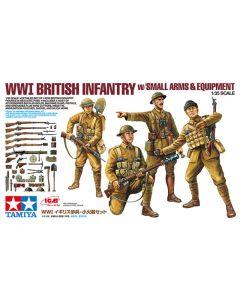 Tamiya 32409 WWI British Infantry 1/35 Scale Plastic Model Figures