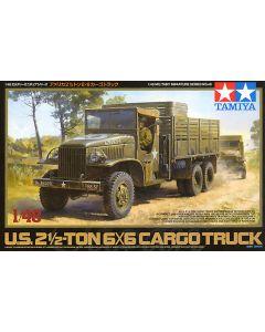 Tamiya 32548 US 25 Ton 6X6 Cargo Truck 1/48 Scale Plastic Model Kit