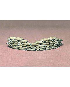 Tamiya 35025 Sand Bag Set 1/35 Scale Model Kit for Dioramas