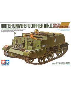 Tamiya 35249 WWII British Mk II Force Universal Carrier 1/35 Scale Model Kit