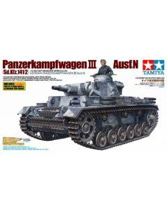 Tamiya 35290 German Panzerkampfwagen III Ausf N 1/35 Scale Plastic Model Kit