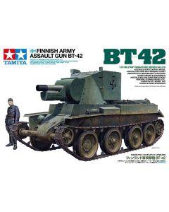 Tamiya 35318 Finnish Army Assault Gun BT-42 1/35 Scale Plastic Model Kit
