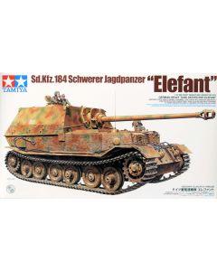 Tamiya 35325 WWII German Elefant Tank Destroyer 1/35 Scale Plastic Model Kit