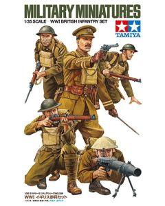 Tamiya 35339 WWI British Infantry Set 1/35 Scale Plastic Model Figures