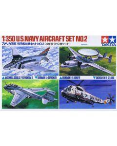 Tamiya 78009 US Navy Aircraft Set #2 Model Aircraft for 1/350 Scale Ships