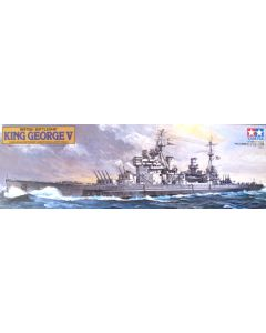 Tamiya 78010 British Battleship King George V 1/350 Scale Plastic Model Kit