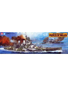 Tamiya 78011 British Battleship Prince of Wales 1/350 Scale Plastic Model Kit