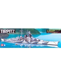 Tamiya 78015 German Battleship Tirpitz 1/350 Scale Plastic Model Kit