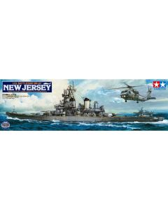 Tamiya 78028 US Battleship New Jersey Modernized 1/350 Scale Plastic Model Kit