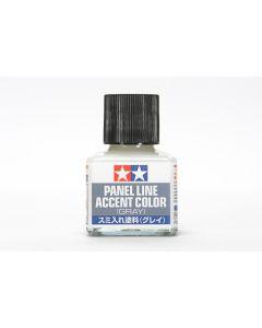 Tamiya 87133 Gray Panel Line Accent 40 ml Bottle