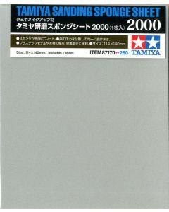 Tamiya 87170 Sanding Sponge Sheet 2000 Grit