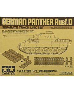 Tamiya 12665 Panther Ausf.D Track Link Set for 1/35 Scale Model Kits