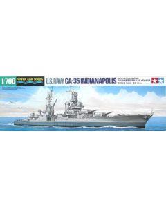 Tamiya 31804 US Heavy Cruiser Indianapolis 1/700 Scale Plastic Model Kit