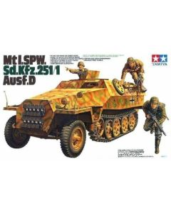Tamiya 35195 Sd.Kfz.251/1 Ausf. D Half-Track 1/35 Scale Plastic Model Kit