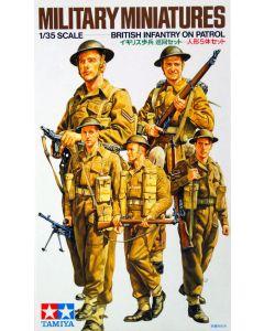 Tamiya 35223 WWII British Infantry on Patrol 1/35 Scale Plastic Model Figures