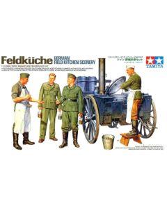Tamiya 35247 WWII German Field Kitchen 1/35 Scale Plastic Model Kit