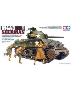 Tamiya 35250 M4A3 Sherman With 75 mm Gun 1/35 Scale Plastic Model Kit