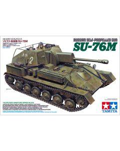 Tamiya 35348 Russian SU-76M Self-Propelled Gun 1/35 Scale Plastic Model Kit