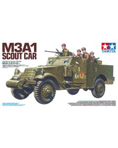 Tamiya 35363 M3A1 Scout Car 1/35 Scale Plastic Model Kit