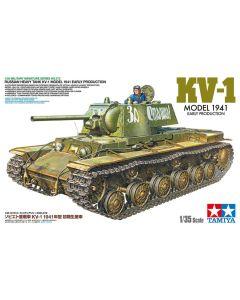 Tamiya 35372 WWII Soviet KV-1 Model 1941 Early Production 1/35 Scale Model Kit