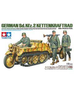 Tamiya 35377 WWII German Sd.Kfz.2 Kettenkraftrad 1/35 Scale Plastic Model Kit