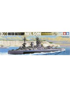 Tamiya 77504 British Battleship Nelson 1/700 Scale Plastic Model Kit