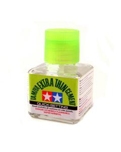 Tamiya 87182 Extra Thin Cement Quick Setting 40 ml Bottle