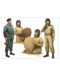 Trumpeter 439 Iraqi Tank Crew 1/35 Scale Plastic Model Figures