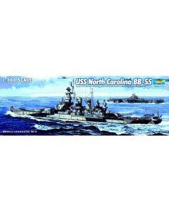 Trumpeter 5734 US Battleship North Carolina 1/700 Scale Plastic Model Kit
