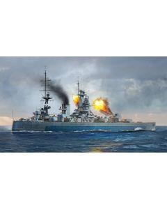 Trumpeter 6717 British Battleship Nelson 1944 1/700 Scale Plastic Model Kit