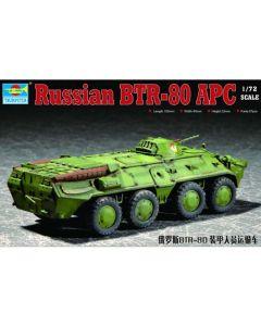 Trumpeter 7267 BTR-80 APC 1/72 Scale Plastic Model Kit