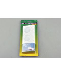 Trumpeter 9960 Paint Palette 3 Wells with Holder