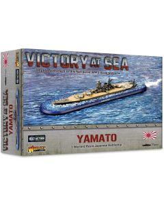 Victory At Sea Japanese Battleship Yamato Resin Gaming Miniature
