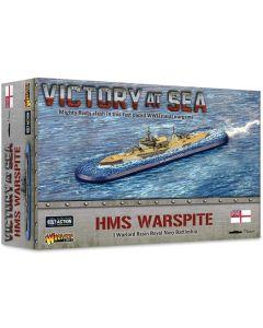 Victory At Sea British Battleship Warspite Resin Gaming Miniature