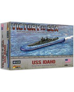 Victory At Sea Us Battleship Idaho Resin Gaming Miniature